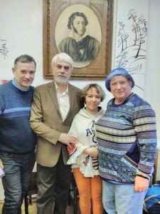 В.Пимонов, Б.Евсеев, Н.Делаланд, Л.Вязмитинова